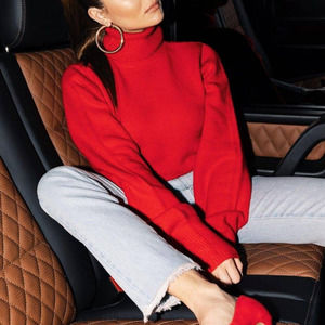 Princess Polly x Olivia Jade Red Cropped  Sweater